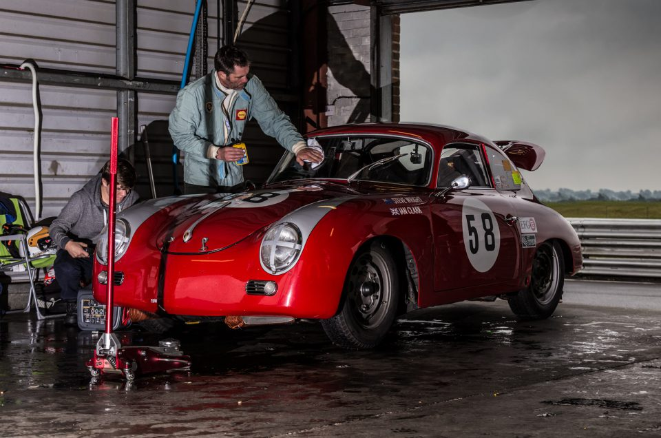 356 race car photographs